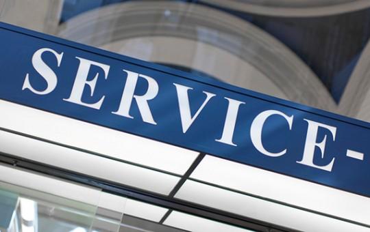 Pressebereich/Service